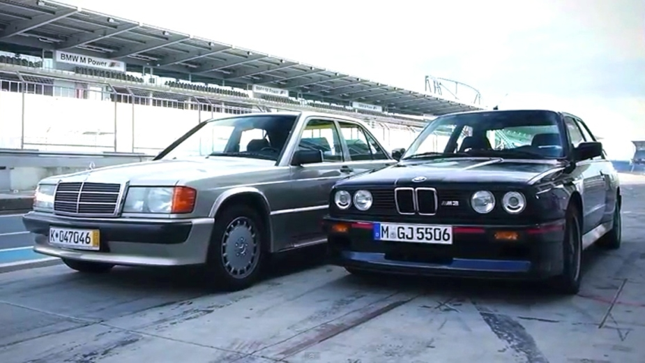 Mercedes Benz 190E 2.3 16 Vs BMW M3