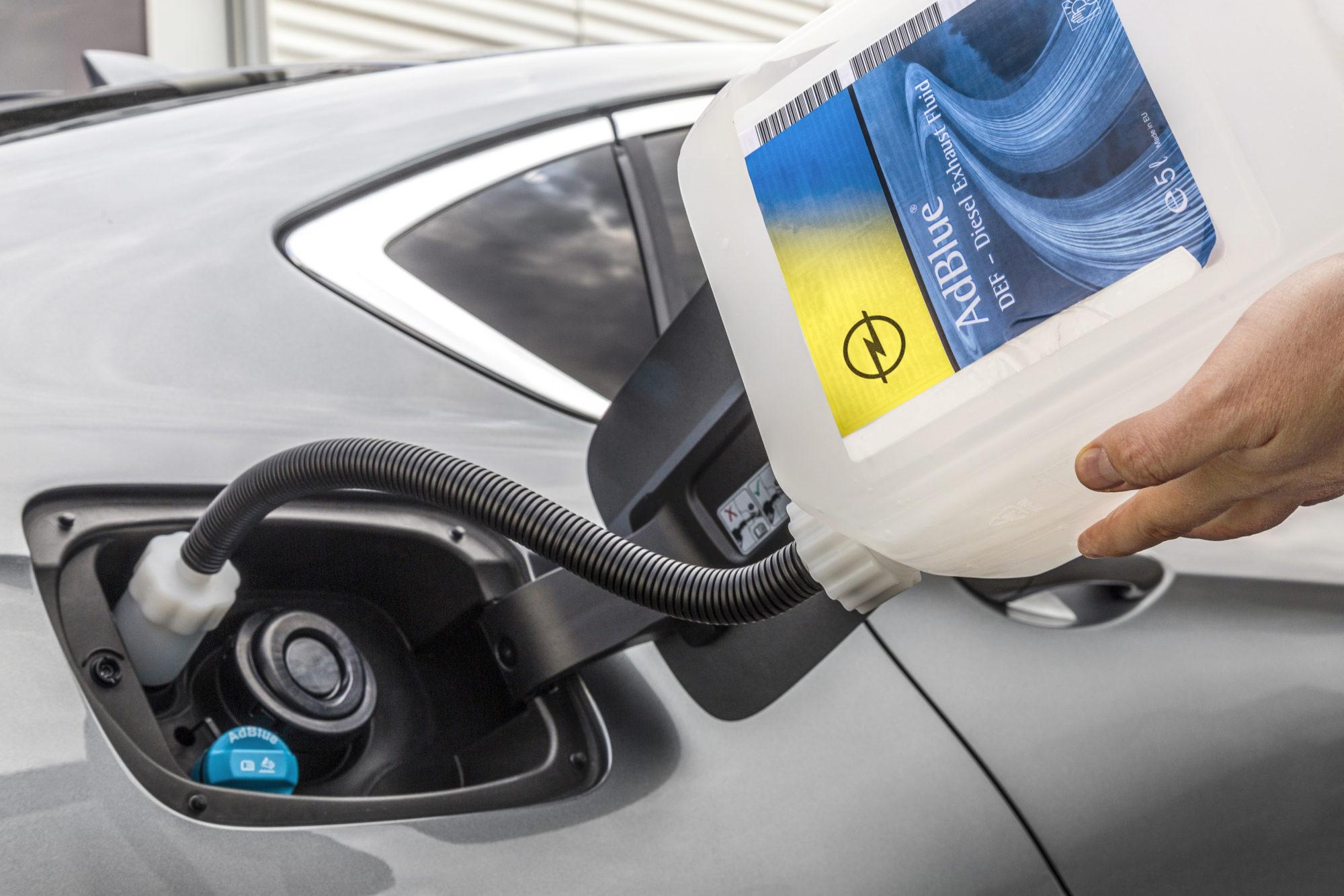 Opel AdBlue SCR 2018
