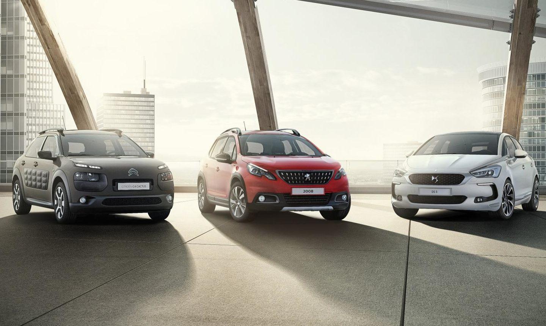 Citroen, Peugeot e DS