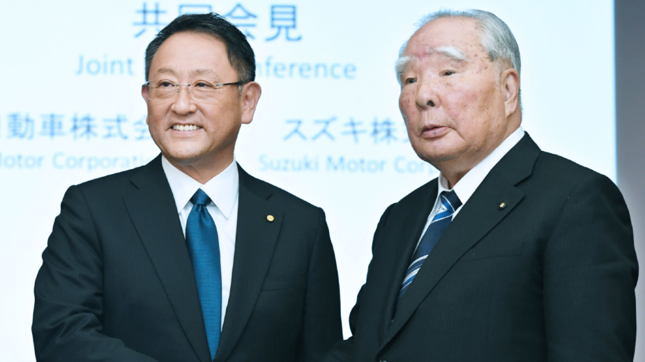Parceria Toyota Suzuki 2017