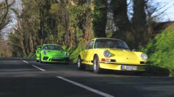 Porsche 911 GT3 RS gerações