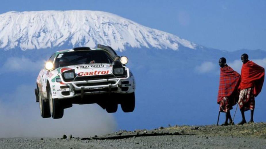 Toyota Celica GT Four ST185 Safari Rally