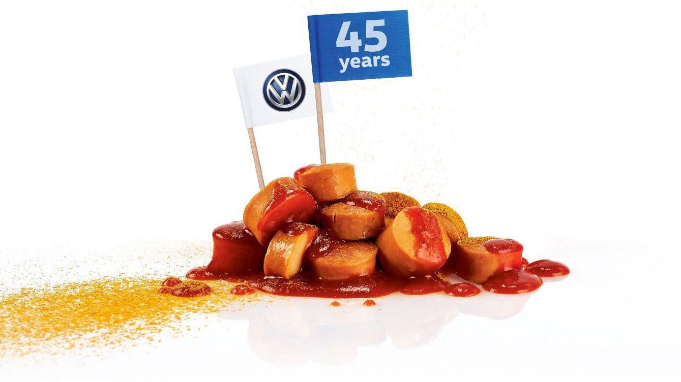 Volkswagen Currywurst, salsichas