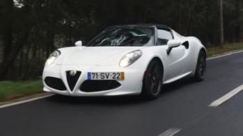 Alfa Romeo 4C Spider 2018