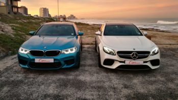 BMW M5 vs Mercedes-AMG E63S