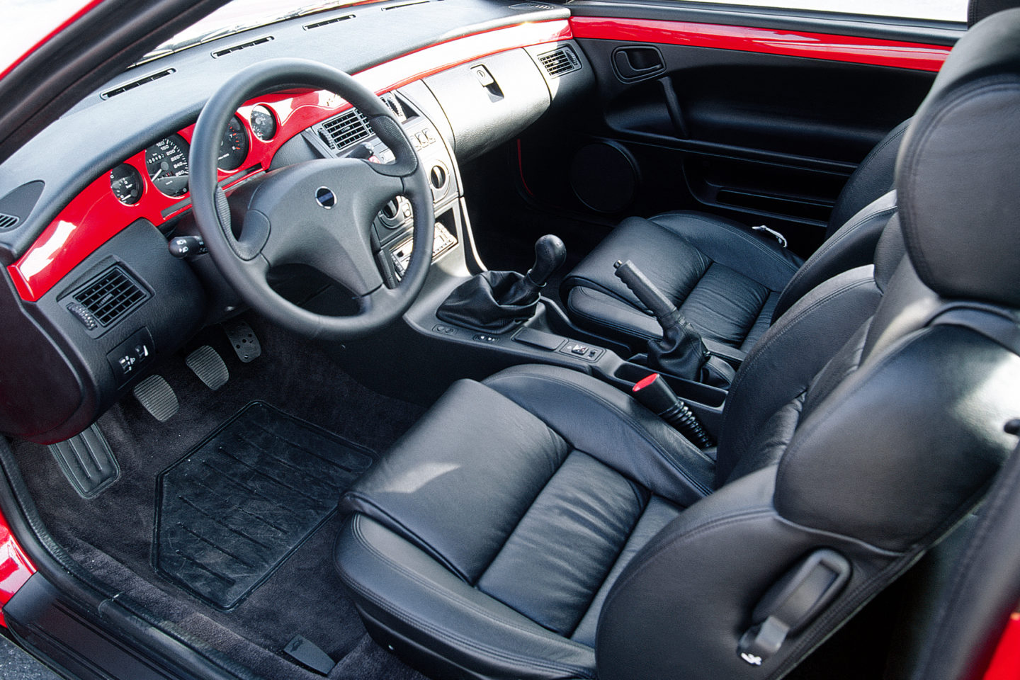 Fiat Coupé, interior