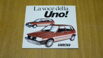 Fiat Uno brochura