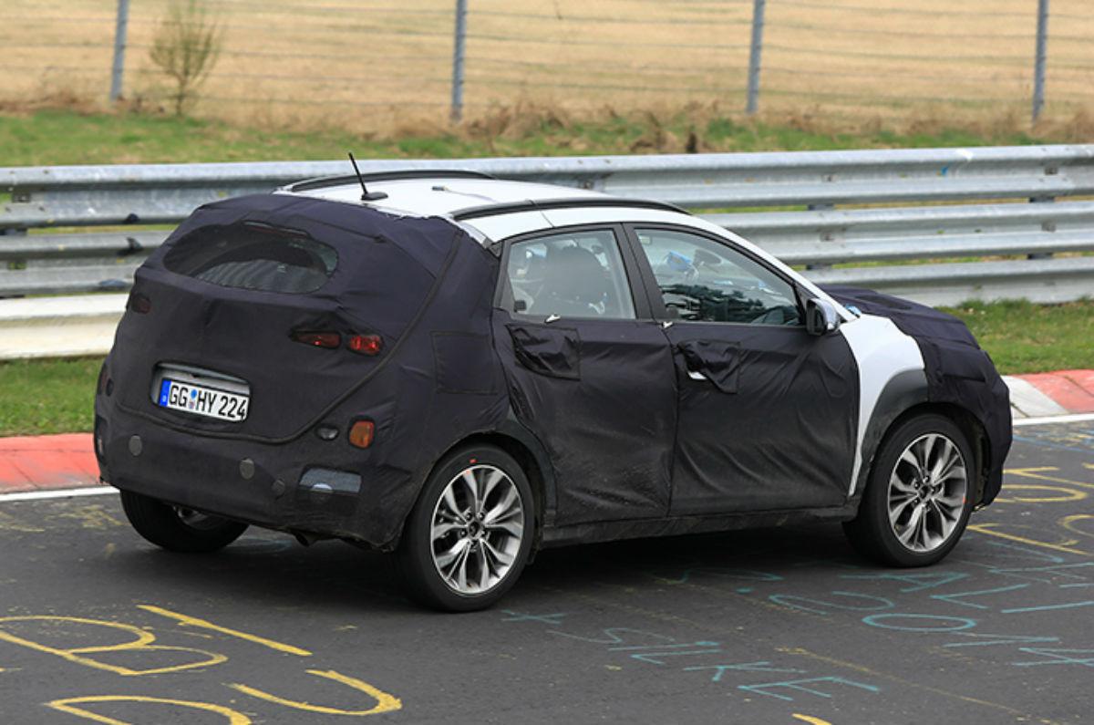 Hyundai Kona testes 2018