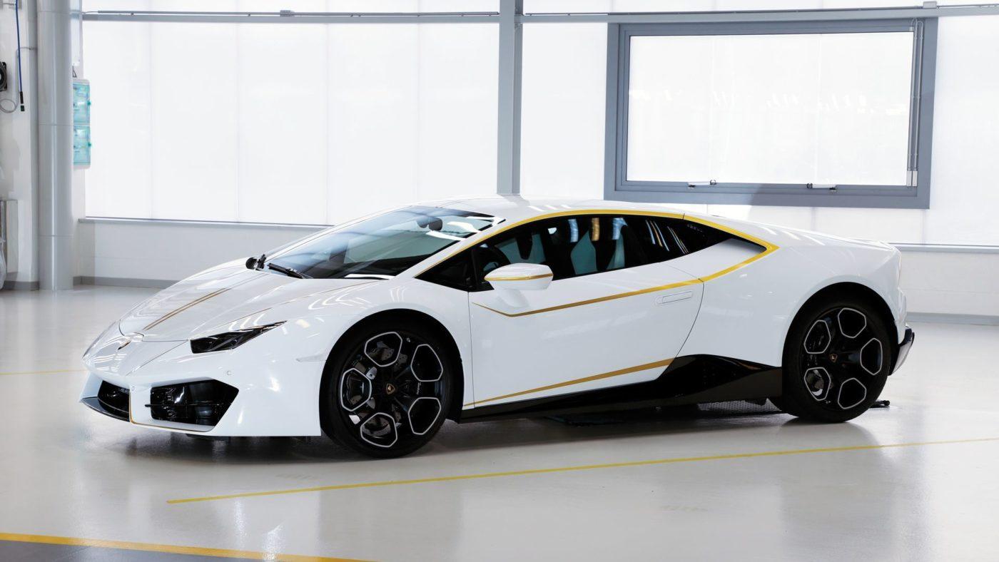 Lamborghini Huracán Papa Francisco 2017