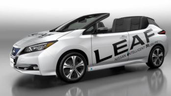 Nissan Leaf Open Car 2018