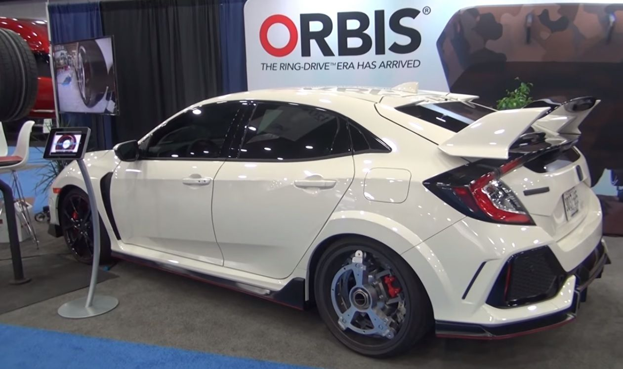 Orbis Ring-Drive, Honda Civic Type R