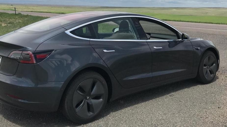 Tesla Model 3 hypermiling