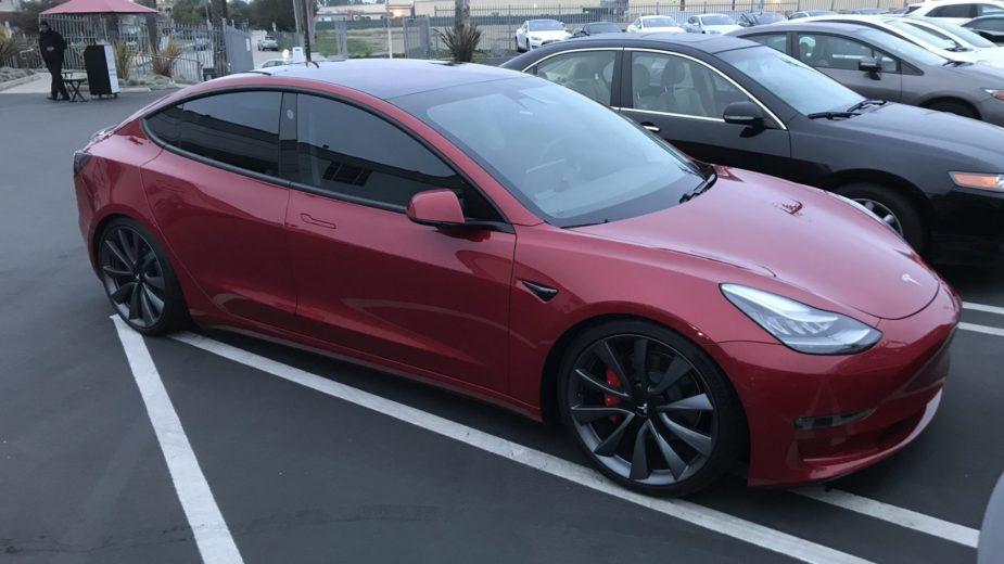 Tesla Model 3 do chefe de design Franz von Holzhausen