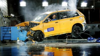Volvo XC90 crash-test