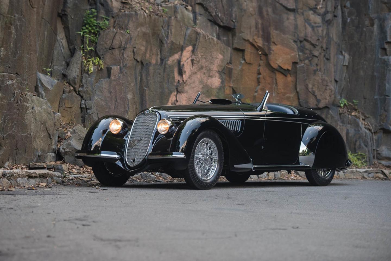 1939 Alfa Romeo 8C 2900B Lungo Spider Touring