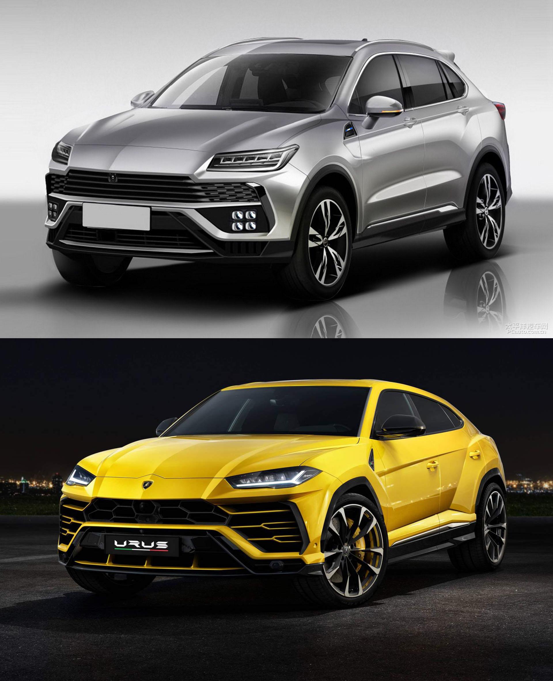 Lamborghini Urus e Huansu Hyosow C60 2018