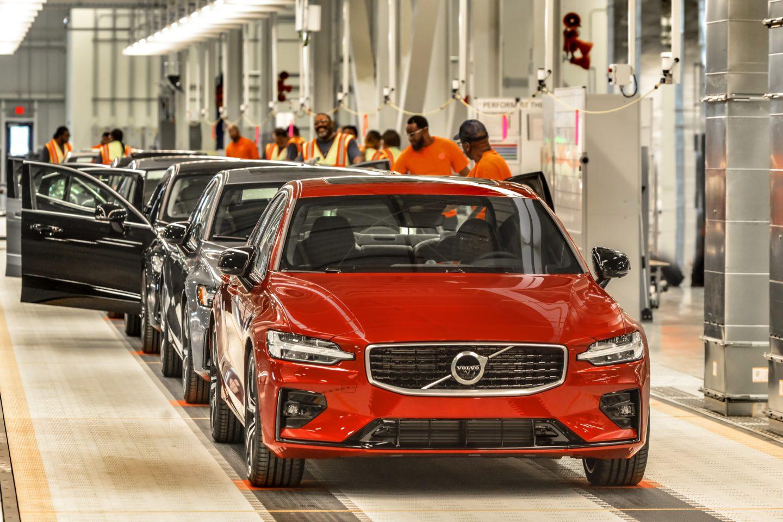 Volvo fábrica Charleston 2018