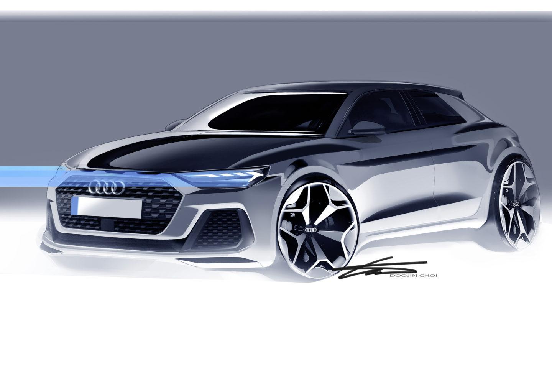Audi A1 Sportback Desenho 2018