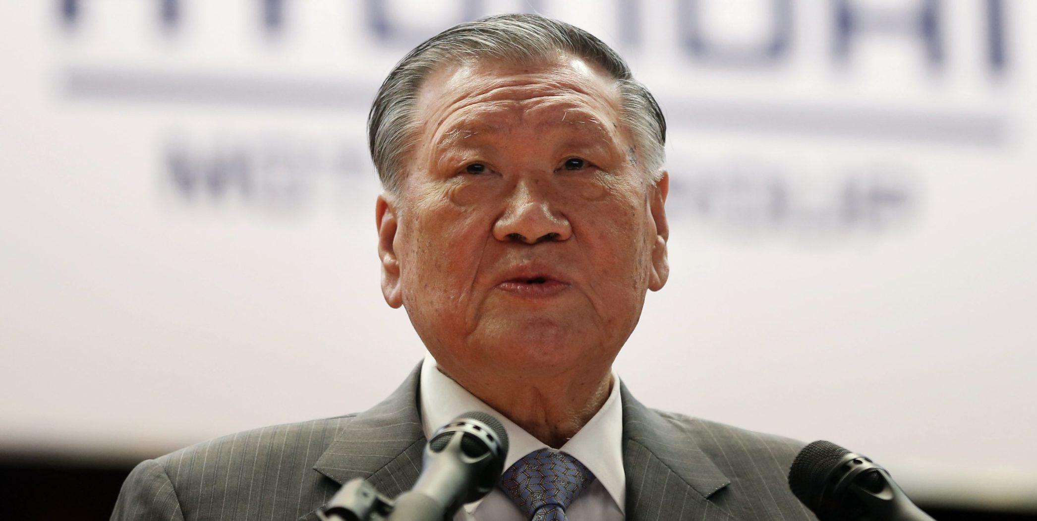 Chung Mong-koo, CEO Hyundai