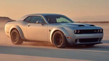 Dodge Challenger Hellcat Redeye 2018