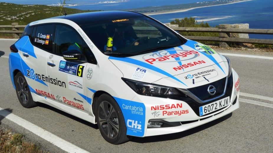 Nissan Leaf Ecoteam Portugal EcoRally