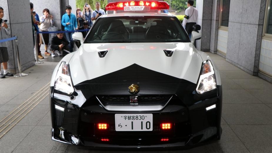 Nissan GT-R Policia Tochigi 2018