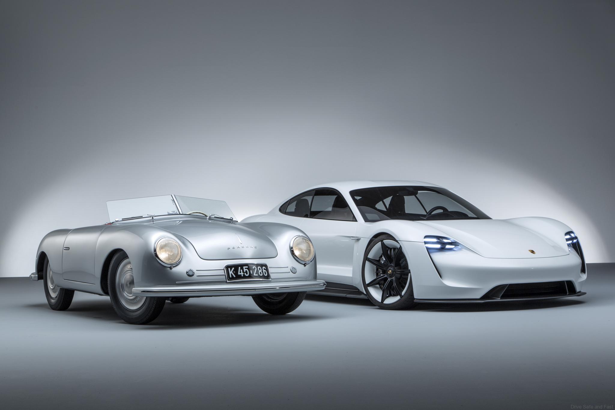 Porsche Mission E e 356