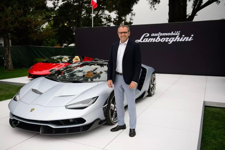 Stefano Domenicalli Lamborghini 2018
