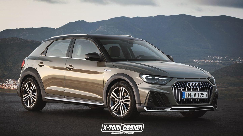 Audi A1 Allroad X-Tomi 2018