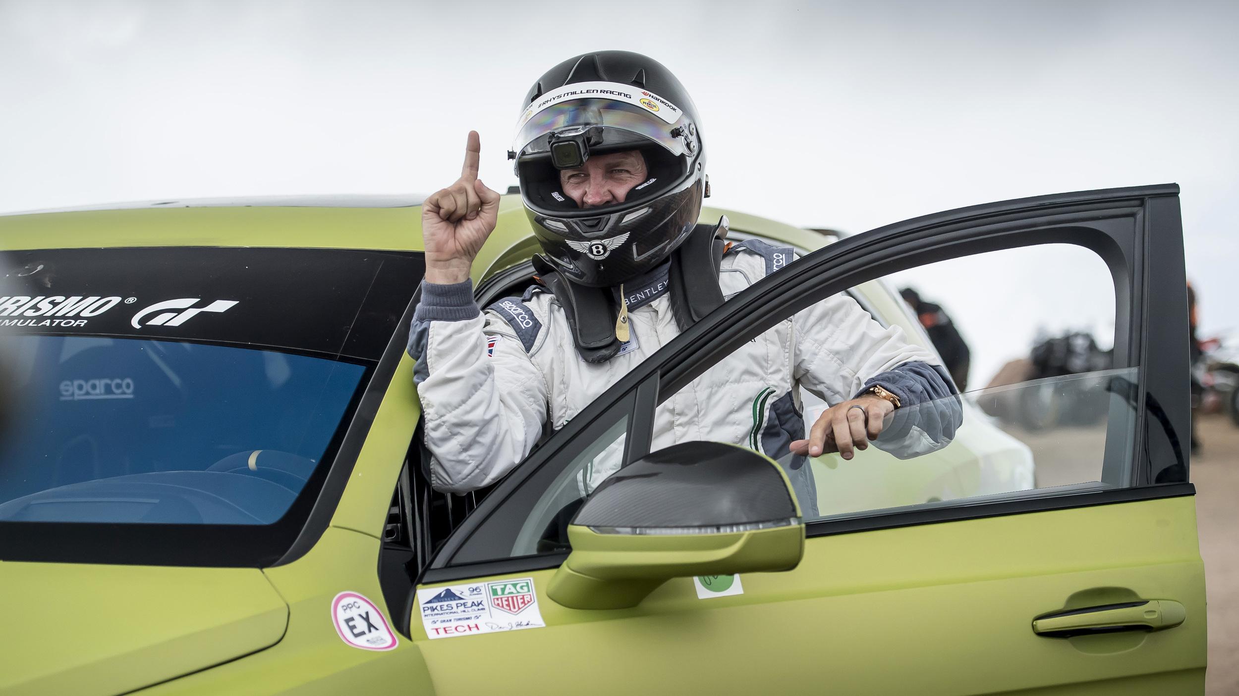 Bentley Bentayga com Rhys Millen