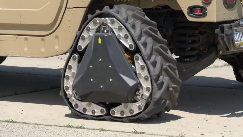 DARPA Reconfigurable Wheel-Track 2018