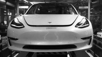 Tesla Model 3 Fremont Factory