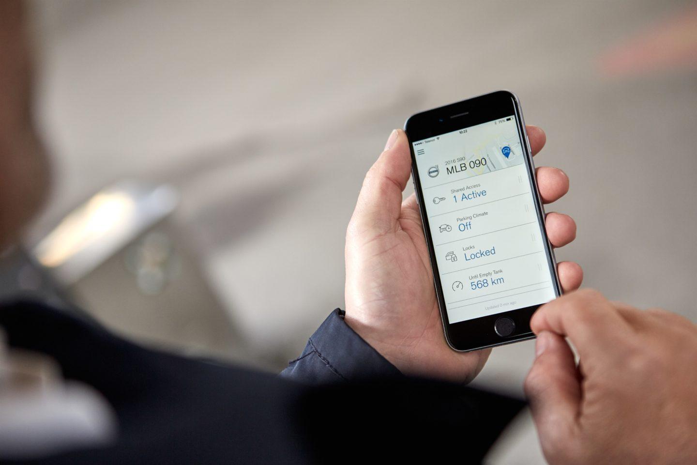 Volvo Cars digital key 2018