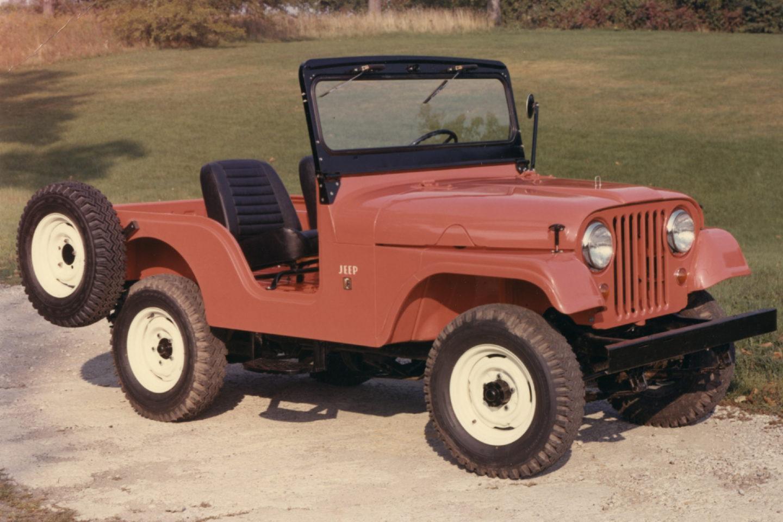 1955, Jeep CJ5