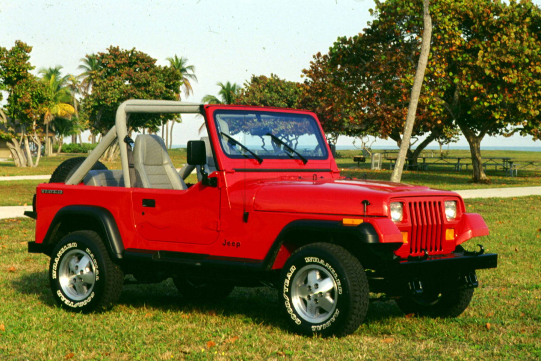1990, Jeep Wrangler YJ
