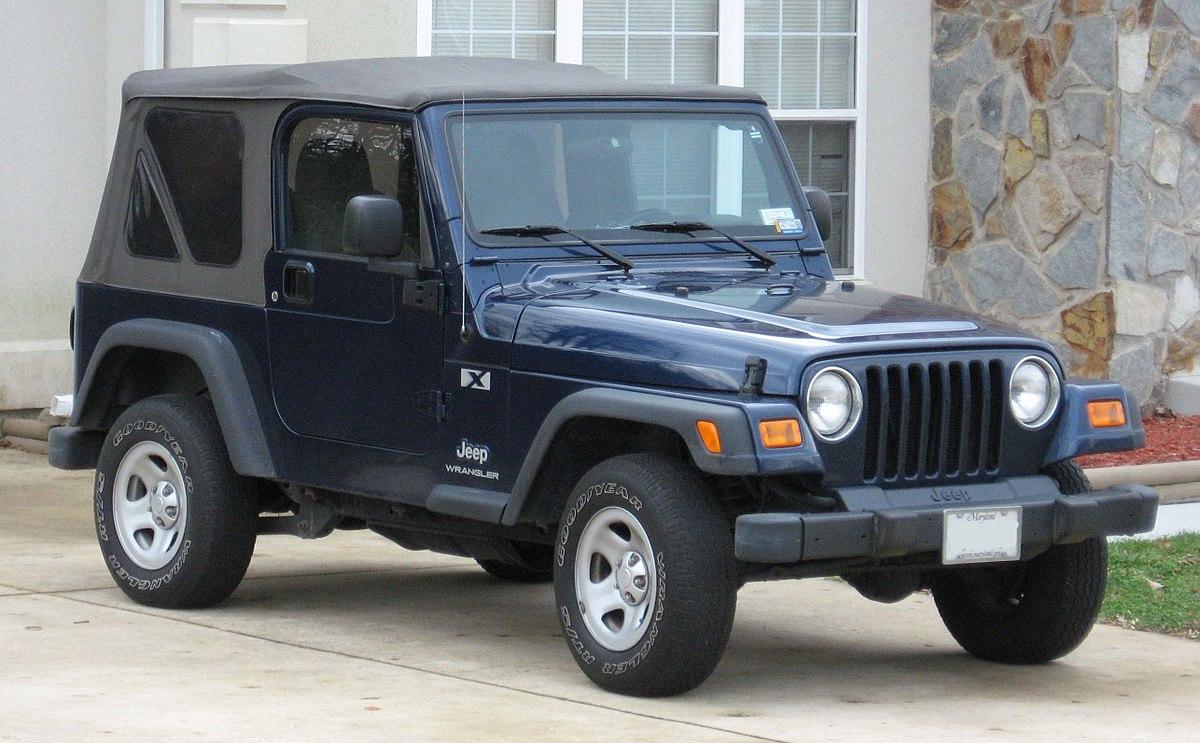 1996, Jeep Wrangler TJ