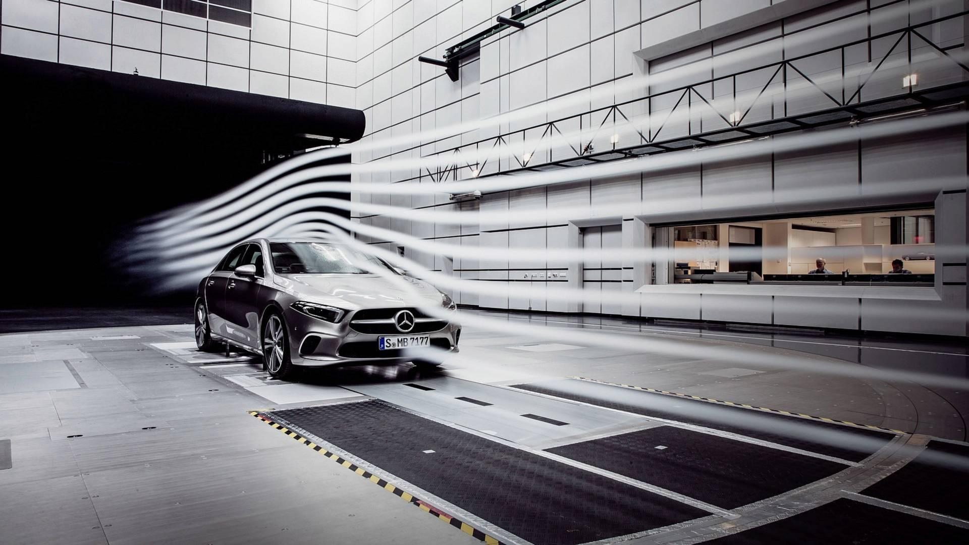 Mercedes-Benz Classe A Sedan, Sindelfingen