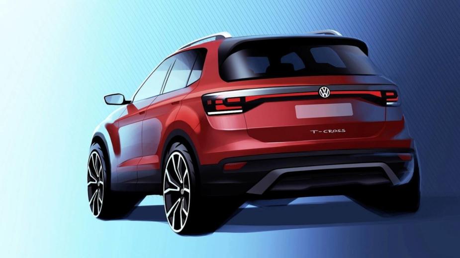 Volkswagen T-Cross Primeiro Teaser 2018
