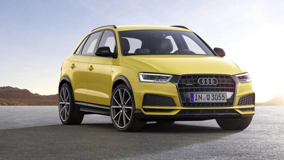 Audi Q3 rendering