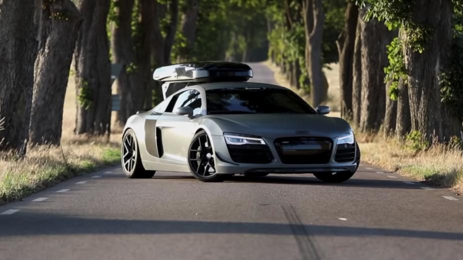 Audi R8 V8, caixa manual