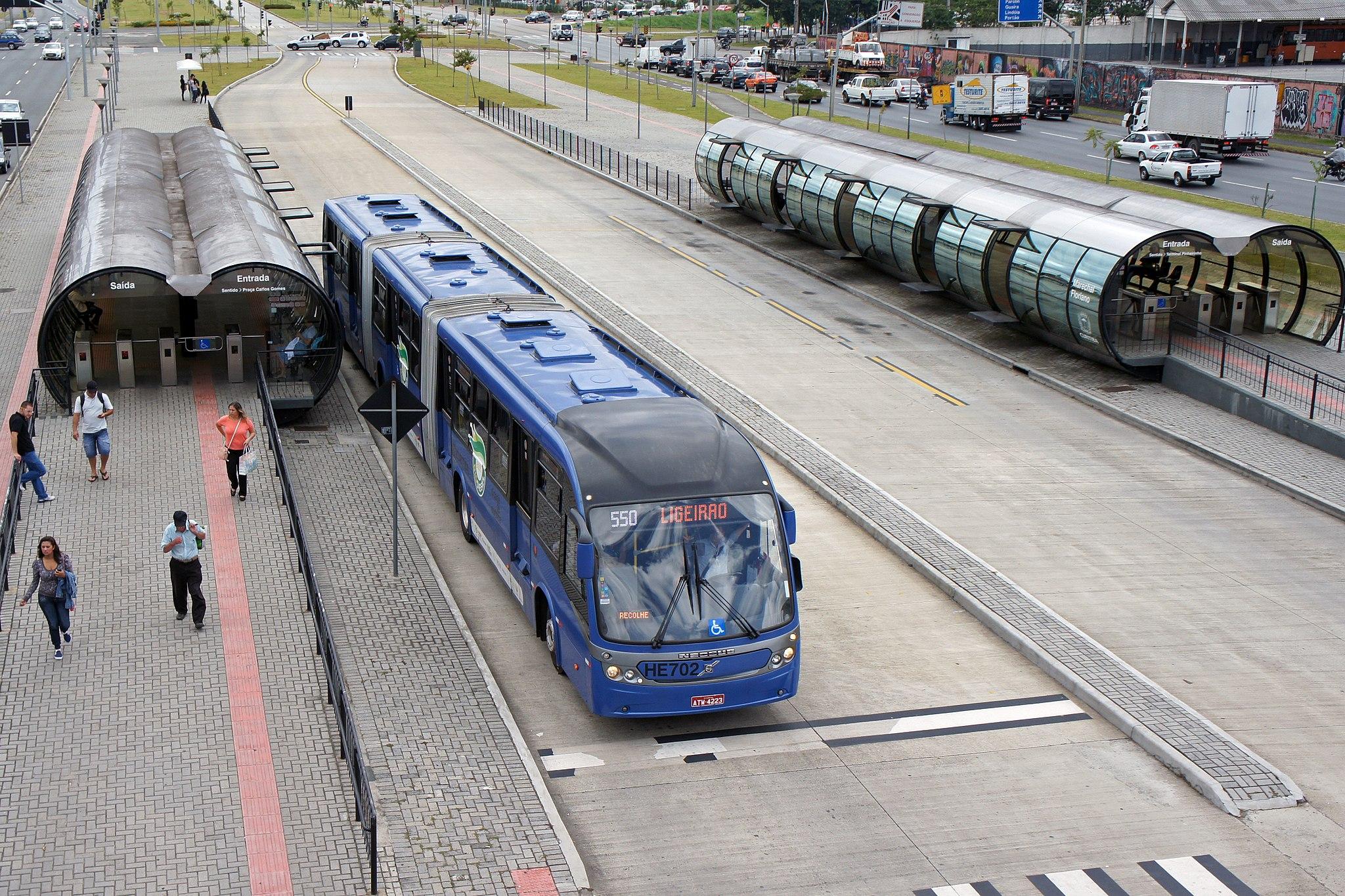BRT, Linha Verde, Curitiba, Brasil