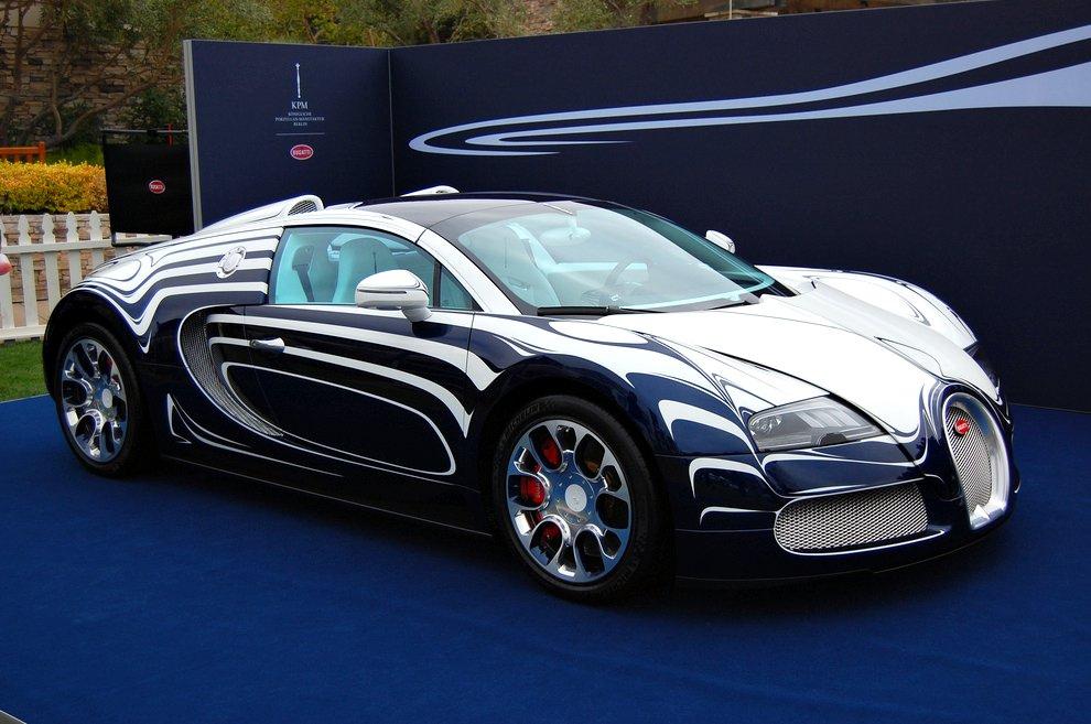 Bugatti Veyron LOr Blanc