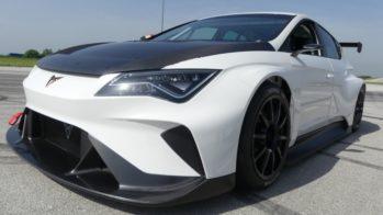 Cupra e-Racer testes Zagreb 2018