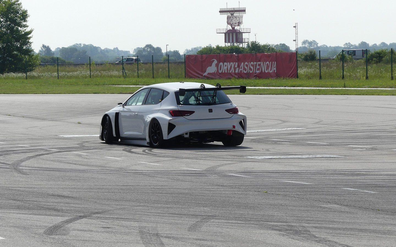 Cupra e-Racer teste Zagreb 2018