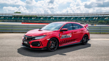 Honda Civic Type R Silverstone