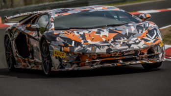 Lamborghini Aventador SVJ Recorde Nurburgring 2018
