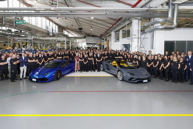 Lamborghini recorde produção 2018
