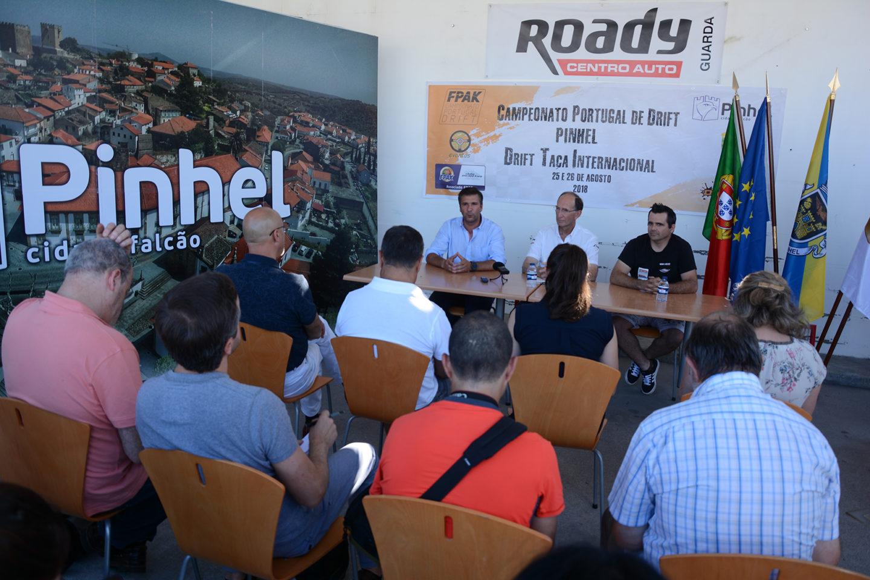Campeonato Nacional Drift 2018 Pinhel Apresentação