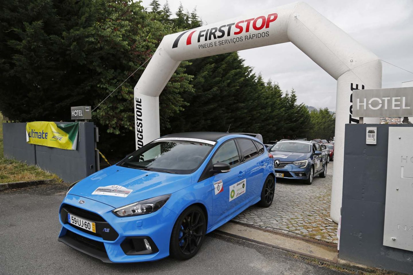 Ford Focus RS no Rali da Guarda