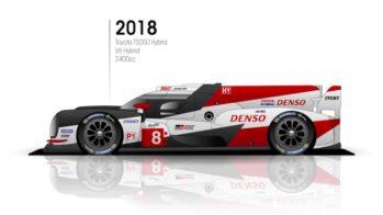 Toyota TS050 Hybrid Le Mans 2018